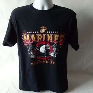 United States Marines mens short sleeve t-shirt